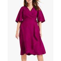 shop for Studio 8 Nola Jacquard Dress, Magenta at Shopo
