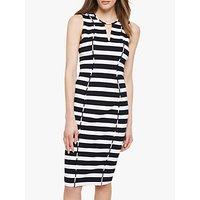 shop for Damsel in a Dress Sade Stripe Dress, Black/Ivory at Shopo