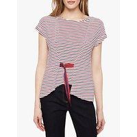 Damsel in a Dress Fitzroy Stripe Top, Navy/Red/White