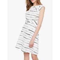 shop for Damsel in a Dress Jemi Belted Dress, Black/White at Shopo