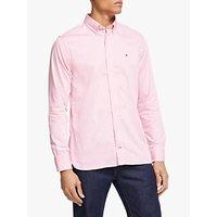 Tommy Hilfiger Stretch Twill Cotton Shirt, Pink