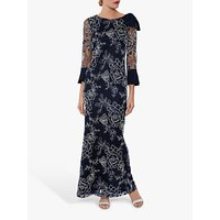 shop for Gina Bacconi Taryn Maxi Dress, Spring Navy at Shopo