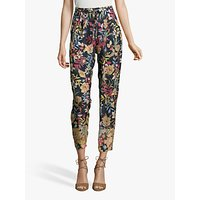 Betty & Co. Floral Print Trousers, Multi
