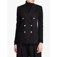 Polo Ralph Lauren Double Breasted Jersey Blazer, Polo Black