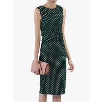 shop for Jolie Moi Roll Collar Sleeveless Shift Dress at Shopo