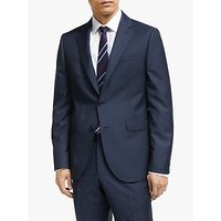 John Lewis and Partners Zegna Wool Tailored Suit Jacket, Navy