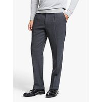John Lewis and Partners Zenga Puppytooth Wool Tailored Suit Trousers