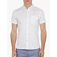 Ted Baker Slooth Stretch Cotton Satin Shirt