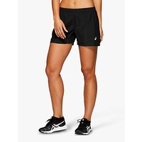 Asics 4 Running Shorts, Performance Black