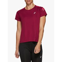 ASICS Silver Icon Short Sleeve Running Top