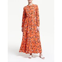 Armedangels Deniaa Floral Print Dress, Carrot