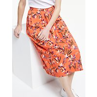 Armedangels Thelma Floral Print Skirt, Carrot