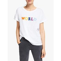 ARMEDANGELS Naalin Cotton World T-Shirt, White