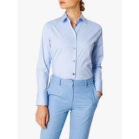 PS Paul Smith Swirl Cuff Stretch Cotton Shirt, Pale Blue