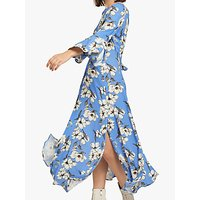 Ghost Luisa Midi Dress, Tree Blossom Floral