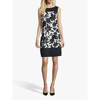 shop for Betty Barclay Floral Print Dress, Dark Blue/Multi at Shopo