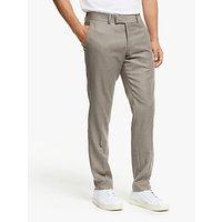 Tiger of Sweden Tordon Wool Slim Fit Suit Trousers, Soft Latte