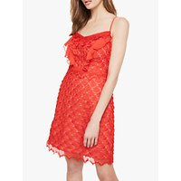 Damsel in a Dress Breana Lace Dress, Red/Nude