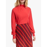 John Lewis & Partners Crepe Turtleneck Top