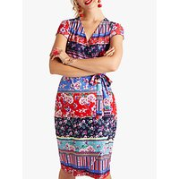 shop for Yumi Patchwork Jersey Dress, Multi at Shopo