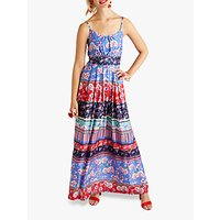 shop for Yumi Patchwork Maxi Dress, Multi at Shopo