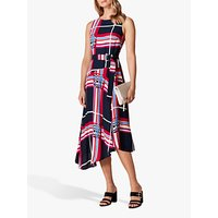 Karen Millen Check Midi Dress, Midi