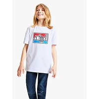 Animal Boys' Retro T-Shirt, White