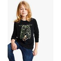 Animal Boys Greedy T-Shirt, Black