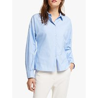 Weekend MaxMara Teiera Cotton Shirt, Light Blue