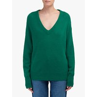 360 Sweater Callie Cashmere Jumper. Emerald