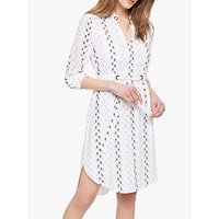 Damsel in a Dress Hannah Embroidered Dress, White/Multi