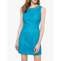 shop for Damsel in a Dress Marea Crochet Lace Dress, Turquoise at Shopo