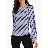 c3a2c7d6f1 John Lewis. DAMSEL IN A DRESS | Damsel in a Dress Donata Stripe Blouse,  Blue/Multi