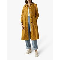 Toast Cotton Twill Trench Coat, Ochre
