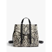 Allsaints Sliver Suede Backpack, Natural