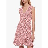 Allsaints Krystal Floral Scatter Dress, Red