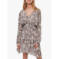 AllSaints Nichola Rosa Dress, Pale Grey