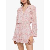 Allsaints Flora Rosa Playsuit, Pink
