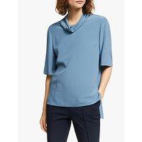 Modern Rarity Silk T-Shirt, Blue