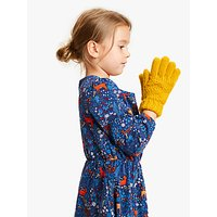 John Lewis & Partners Children's Colour Block Gloves