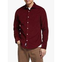 John Lewis & Partners Needle Cord Slim Fit Shirt