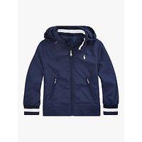 Polo Ralph Lauren Boys' Windbreaker Jacket, Navy