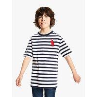 Polo Ralph Lauren Boys Stripe T-Shirt, Navy
