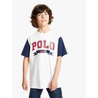 Polo Ralph Lauren Boys Logo T-Shirt, White