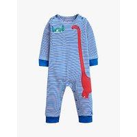 Baby Joule Fife Dinosaur Babygrow, Blue
