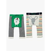 Baby Joule Lively Legs Mouse Leggings, Pack of 2