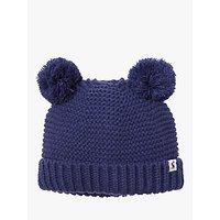 Baby Joule Pom Pom Hat, French Navy