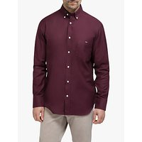 Eden Park Cotton Regular Fit Shirt, Burgundy