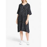 Numph Jemsa Spot Print Dress, Gargoyle