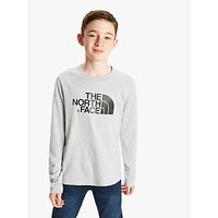 The North Face Boys' Long Sleeve Logo T-Shirt